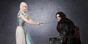 Daenerys Targaryen e John Snow (Game of Thrones/HBO)