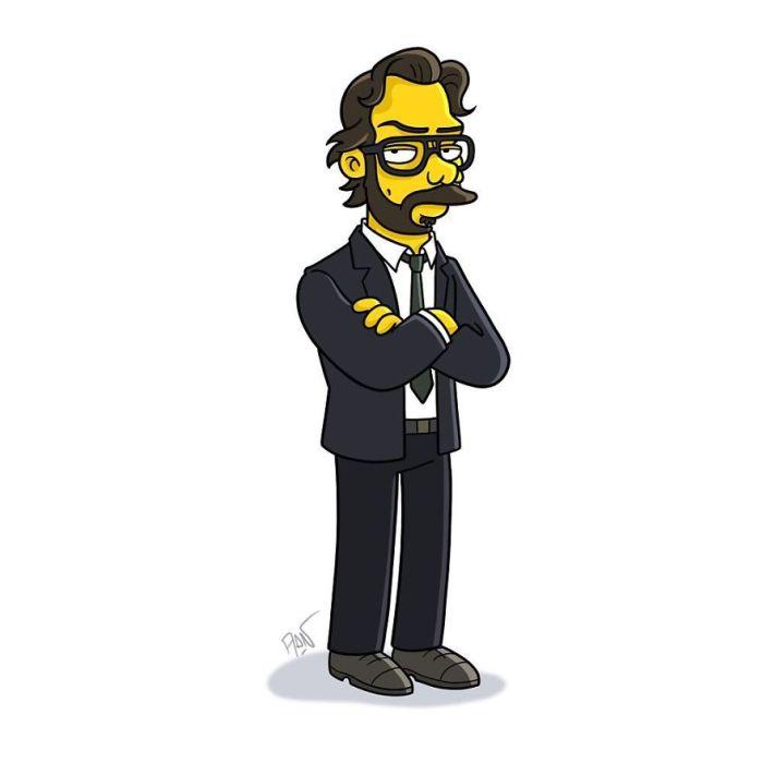 Professore (Simpsonized/Adrien Notedaem)