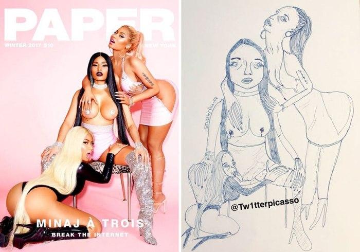 Nicki Minaj (Tw1tterPicasso)