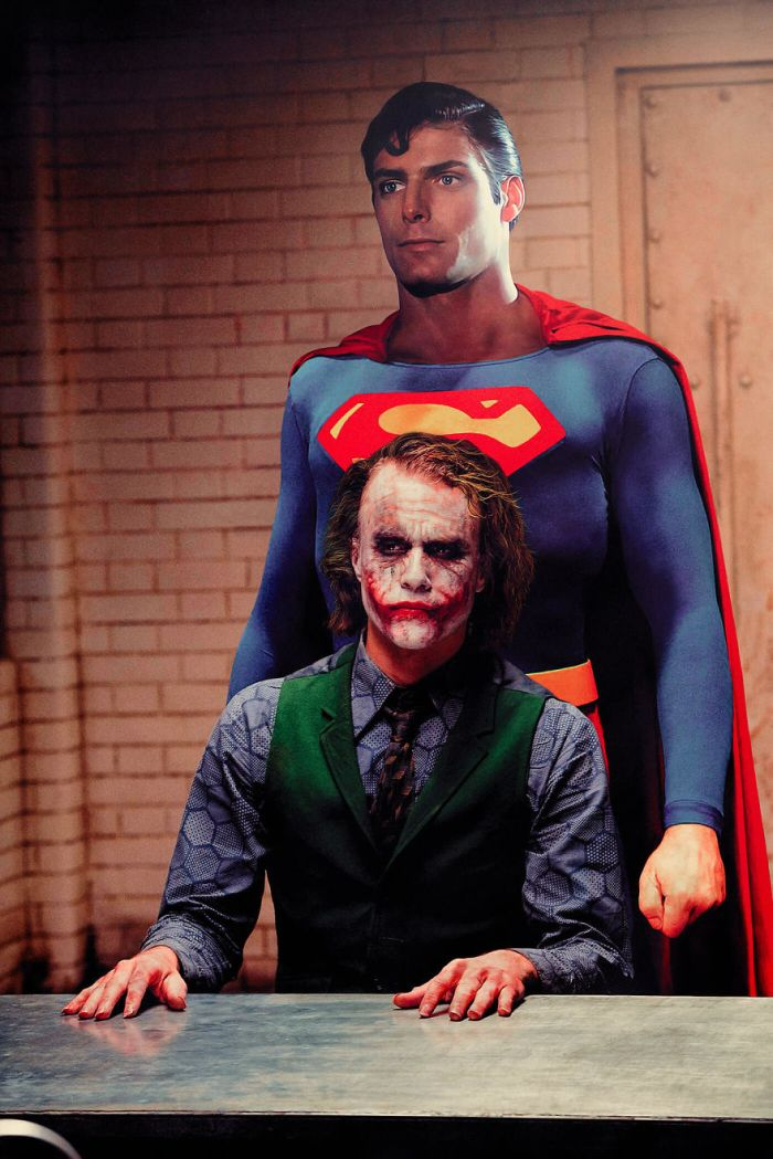 Superman 1978-The Dark Knight 2008 (Pop Culture Superheroes/Gianfranco Gallo)