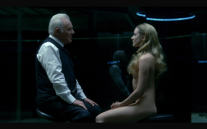 Dr. Robert Ford e Dolores Abernathy (Westworld/HBO)