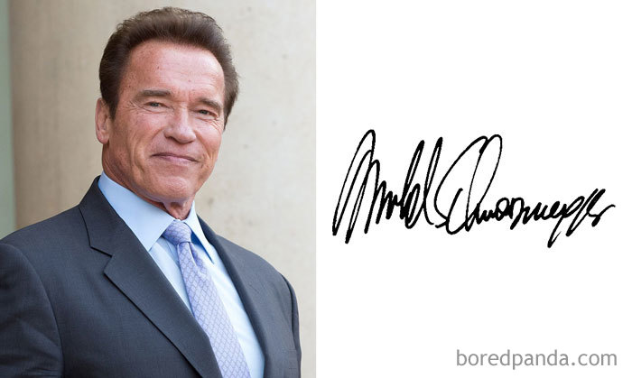 Arnold Schwarzenegger (Bored Panda)