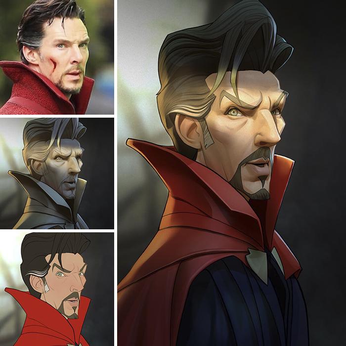 Benedict Cumberbatch/Dottor Strange - Dottor Strange (Xi Ding)