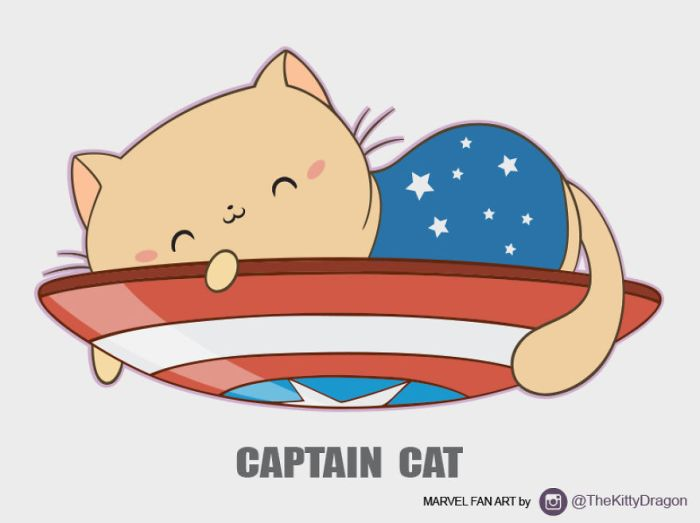 Captain Cat (The Kitty Dragon)