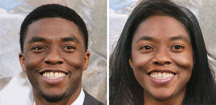 Chadwick Boseman - Black Panther (FaceApp)