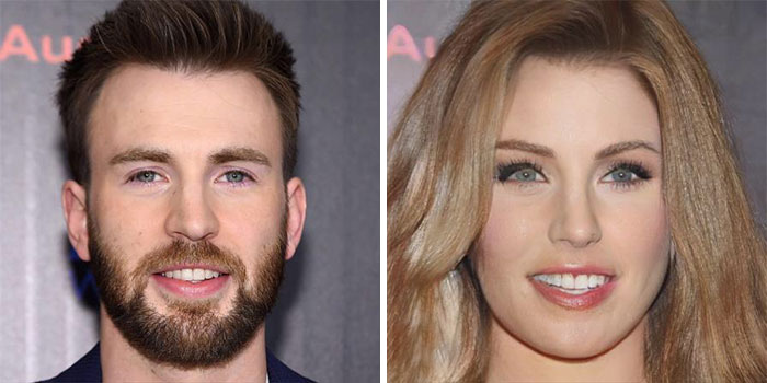 Chris Evans - Captain America (FaceApp)