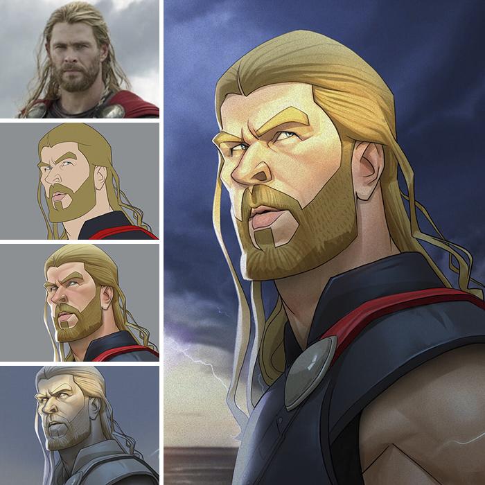 Chris Hemsworth/Thor - Thor (Xi Ding)
