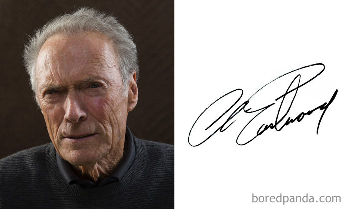 Clint Eastwood (Bored Panda)