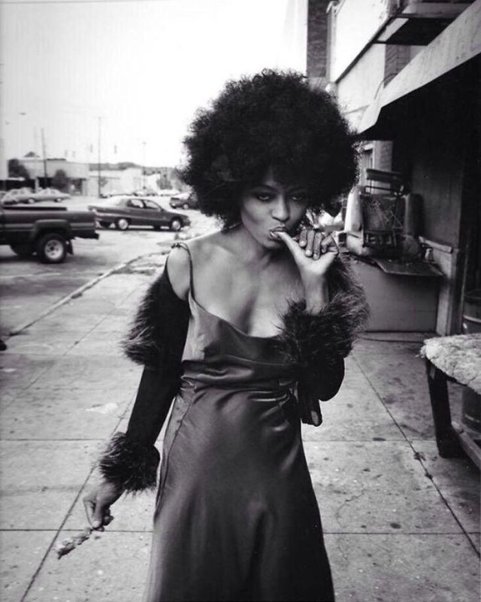 Diana Ross (Velvet Coke/Instagram)