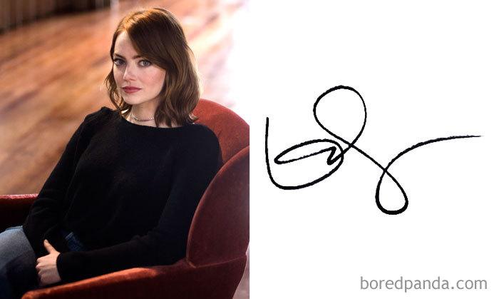 Emma Stone (Bored Panda)