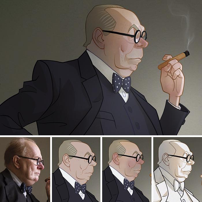 Gary Oldman/Winston Churchill - L'ora più buia (Xi Ding)