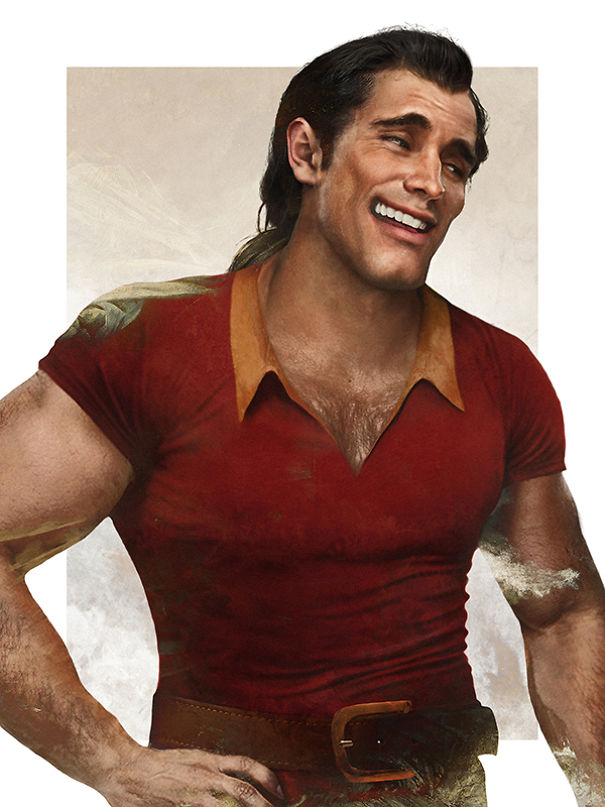 Gaston - La Bella e la Bestia