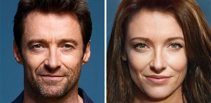 Hugh Jackman - Wolverine (FaceApp)