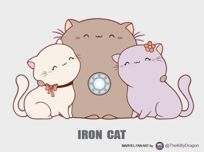 Iron Cat (The Kitty Dragon)