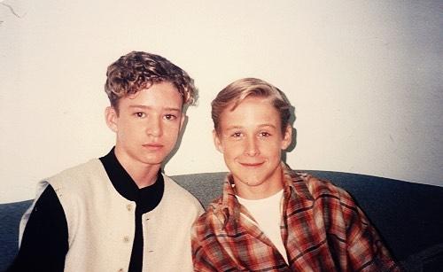Justin Timberlake e Ryan Gosling - 1994 (Velvet Coke/Instagram)