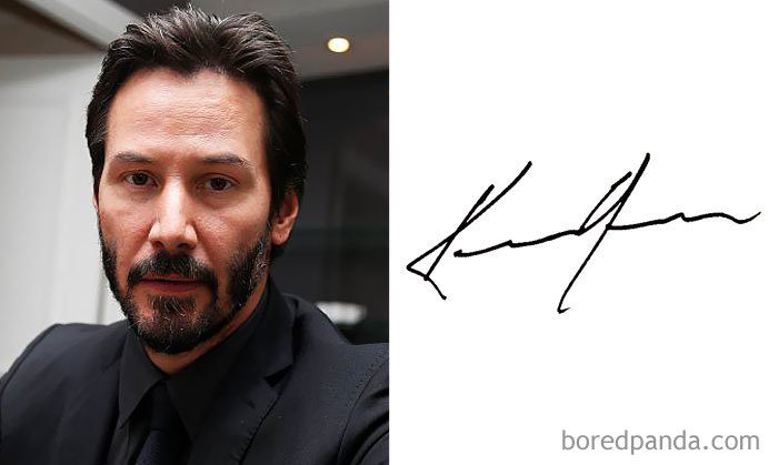 Keanu Reeves (Bored Panda)