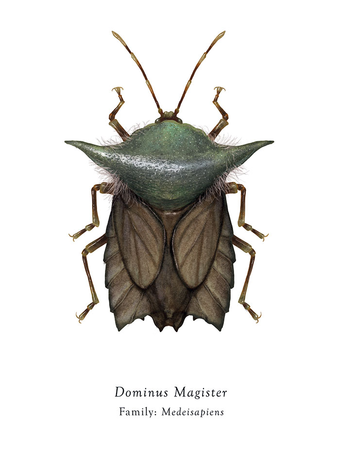 Dominus Magister/Yoda (Richard Wilkinson)