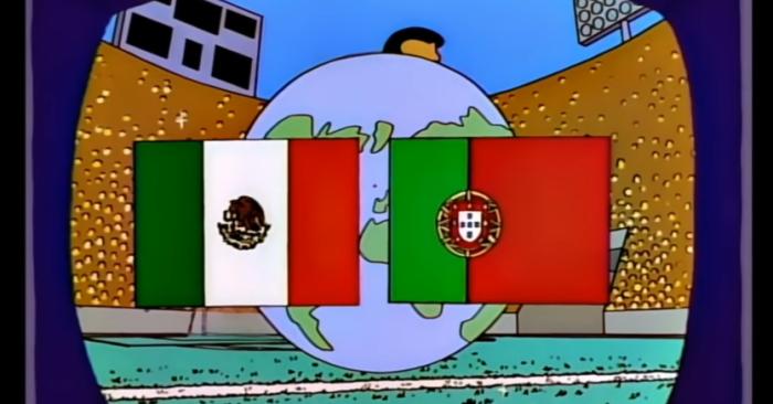 Messico Vs Portogallo (Simpson/Fox)