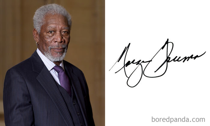 Morgan Freeman (Bored Panda)