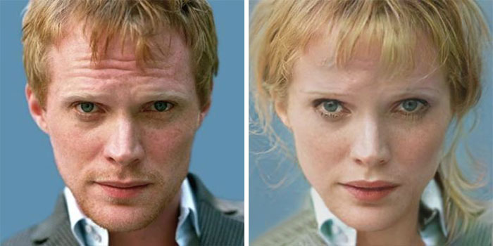 Paul Bettany - Vision (FaceApp)