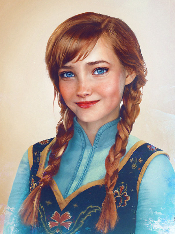 Principessa Anna - Frozen