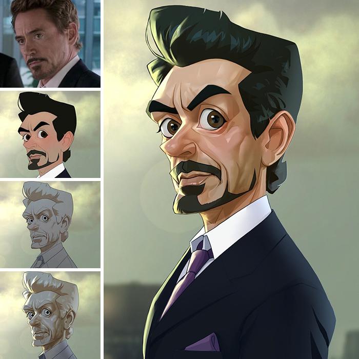 Robert Downey Jr/Iron Man - Avengers (Xi Ding)
