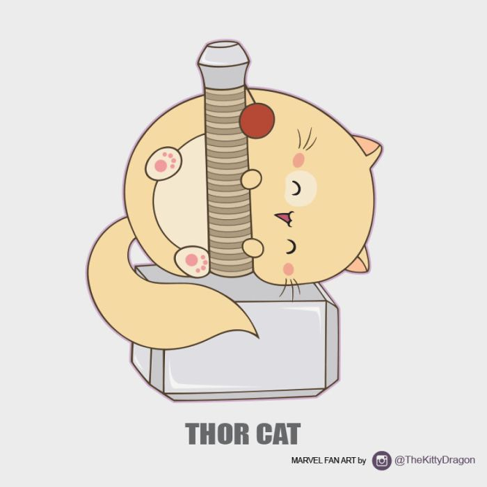 Thor Cat (The Kitty Dragon)