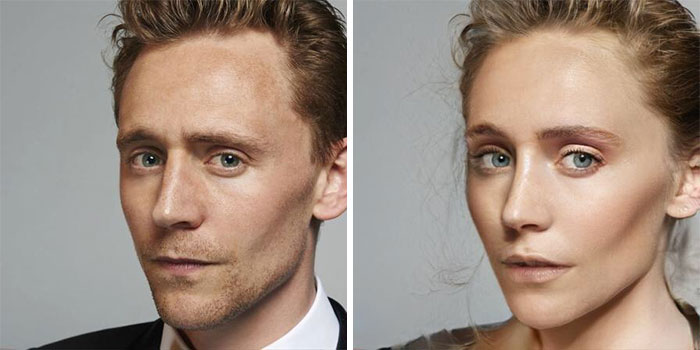 Tom Hiddleston - Loki (FaceApp)