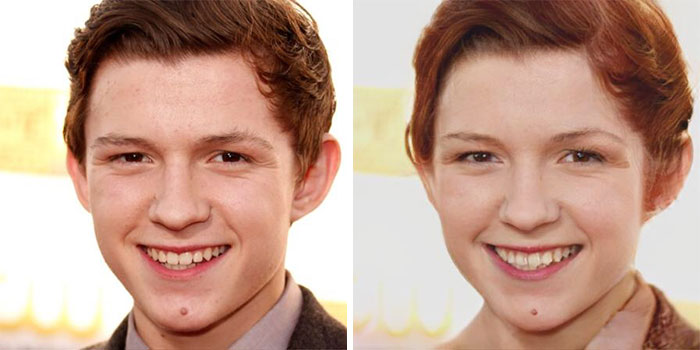 Tom Holland - Spider-Man (FaceApp)
