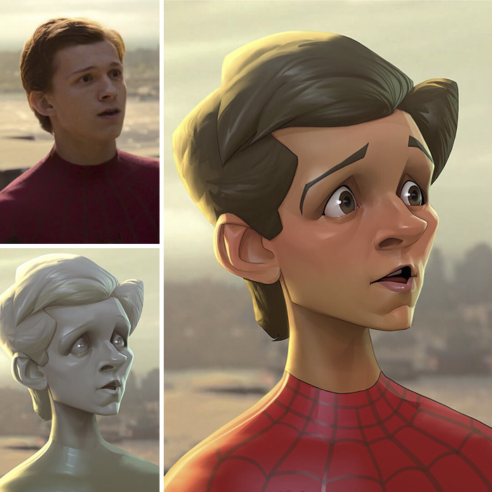 Tom Holland/Spider-Man - Spider-Man: Homecoming (Xi Ding)