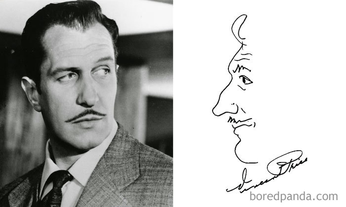 Vincent Price (Bored Panda)