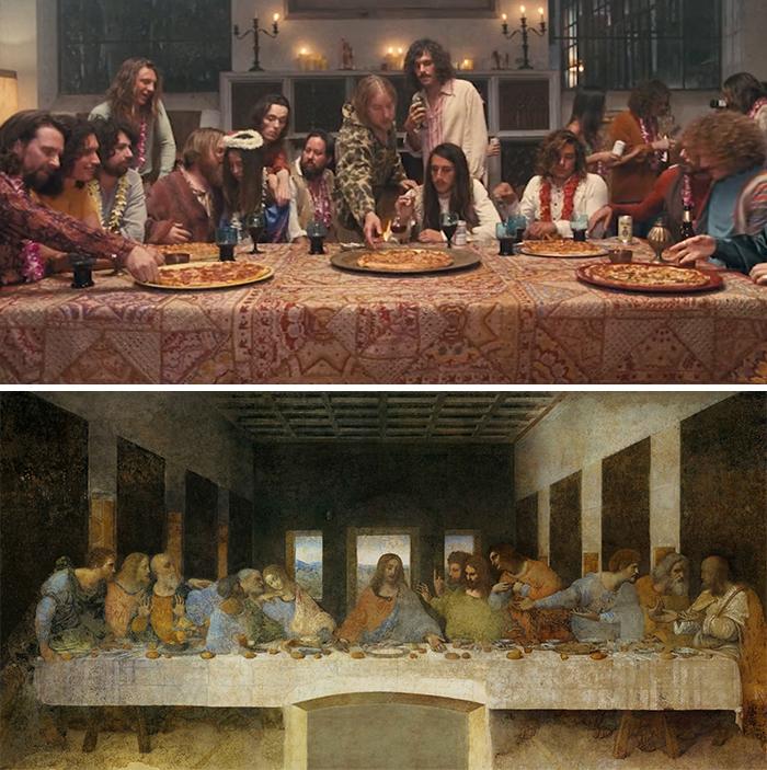 Inherent Vice (2014)/L'Ultima Cena di Leonardo da Vinci