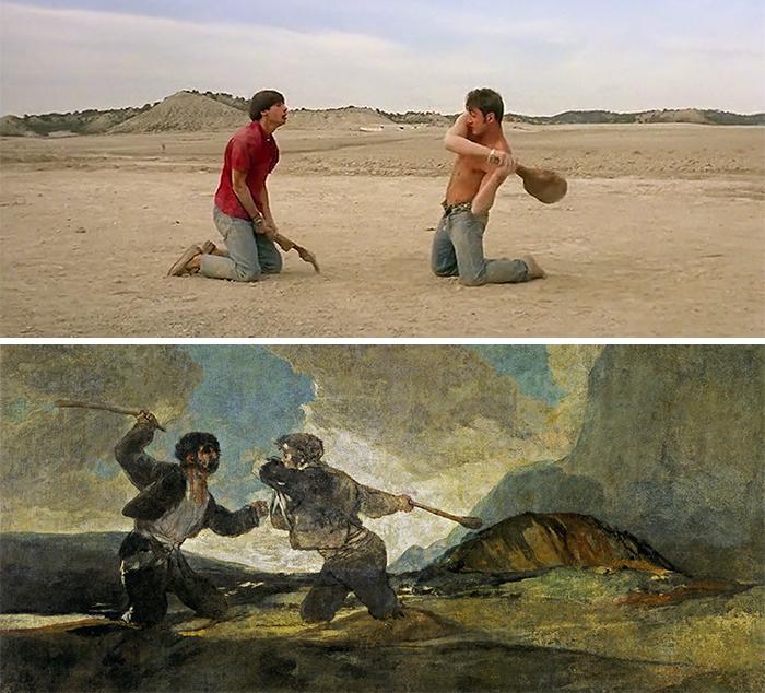 Jamon Jamon (1992)/Duelo a Garrotazos (1823)