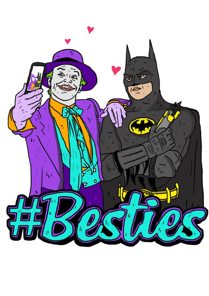 Joker e Batman - Batman (Besties/Nick Cocozza)