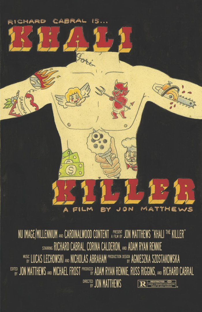Khali the Killer poster (EuroVideo)