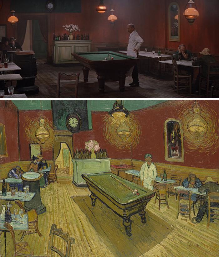 Lust for life (1965)/Le Café De Nuit (1888)