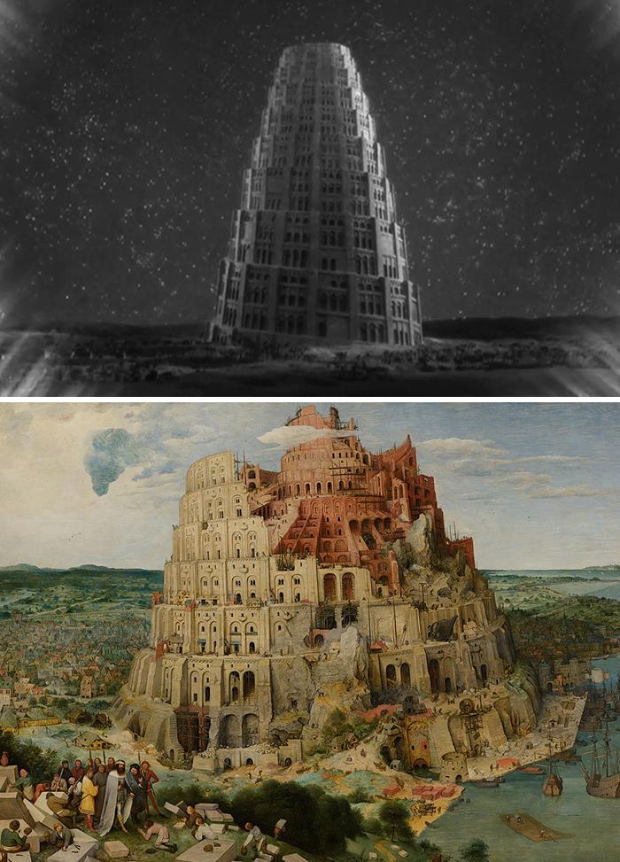 Metropolis (1927)/La Torre di Babele (1563)