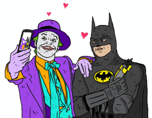Joker e Batman (Besties/Nick Cocozza)