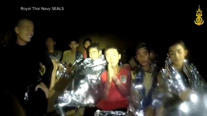 I Wild Boars intrappolati nella grotta