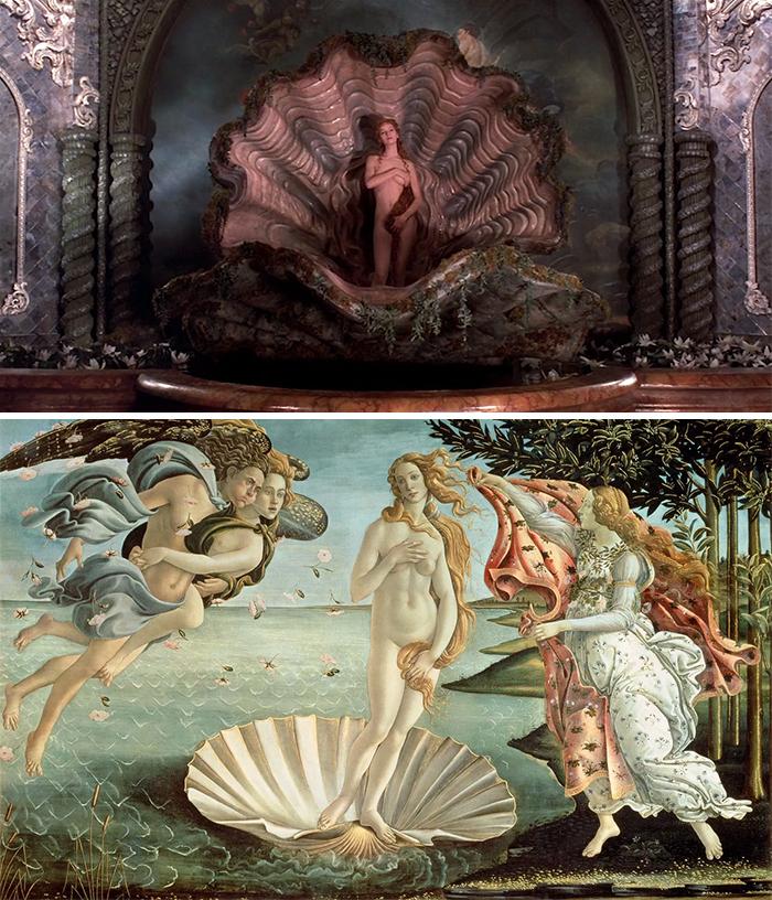 The Adventures of Baron Munchausen (1988)/La nascita di Venere (1840-1846)