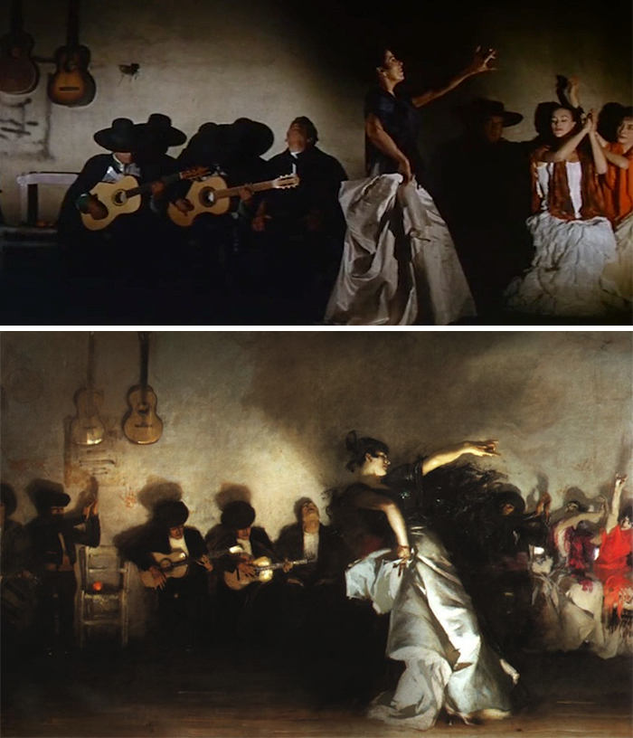 The Alamo (1960)/El Jaleo (1882)