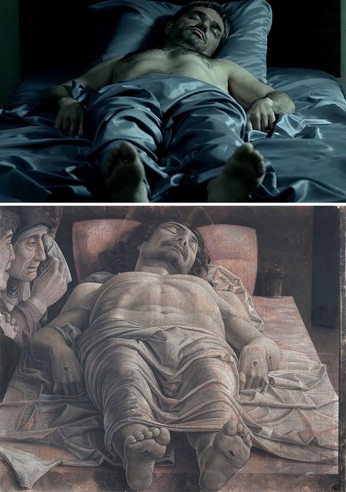 The Return (2003)/Lamentation of Christ (1475-1490)
