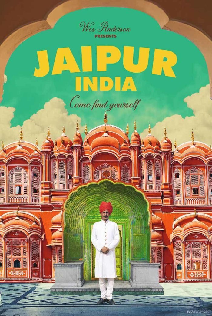 Jaipur, India - Wes Anderson (Big Domain)