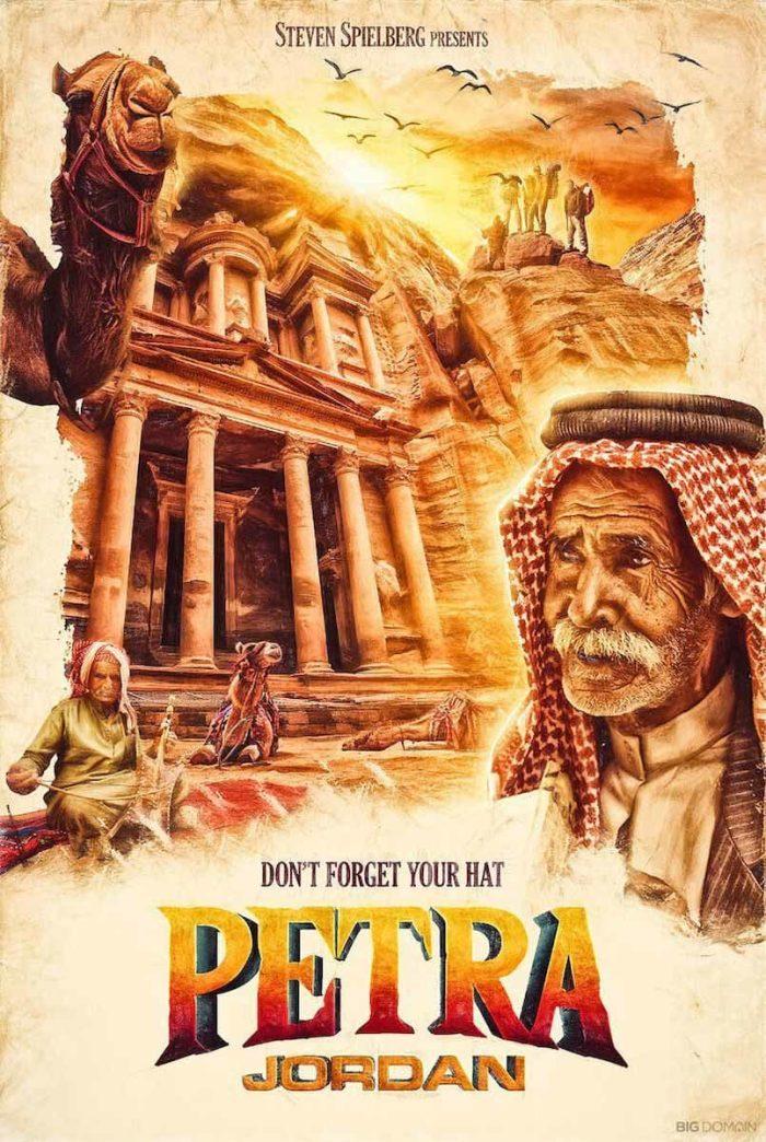 Petra, Giordania - Steven Spielberg (Big Domain)