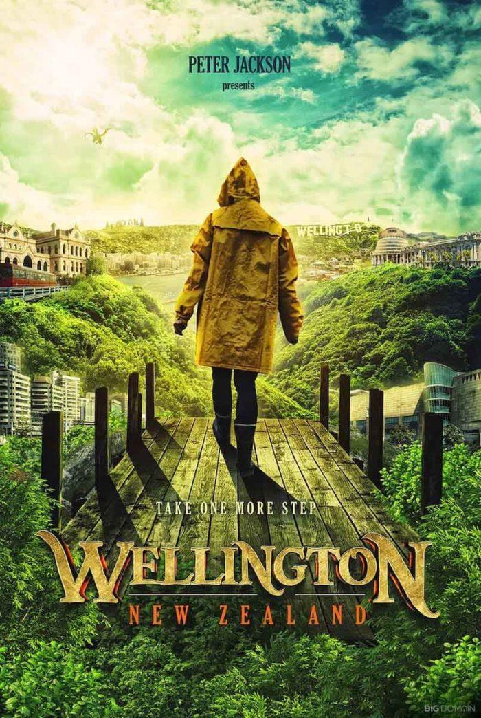 Wellington, Nuova Zelanda - Peter Jackson (Big Domain)