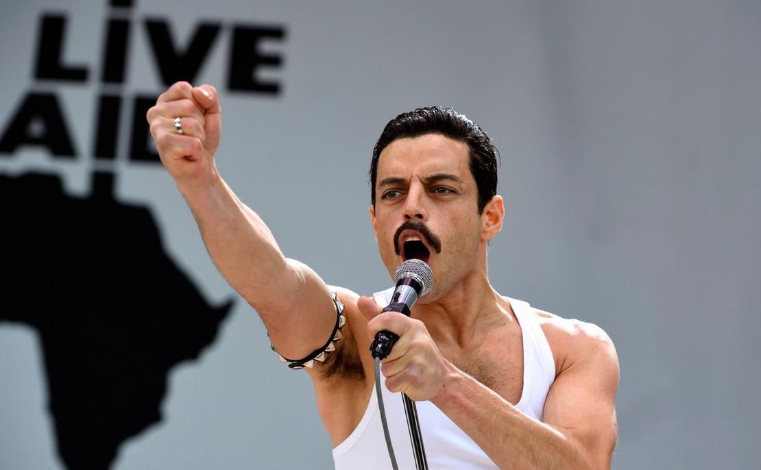 Rami Malek in Bohemian Rhapsody (20th Century Fox)