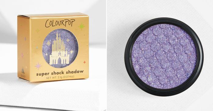 Eyeshadow singles that'll have you singin' (ColourPop/Disney)