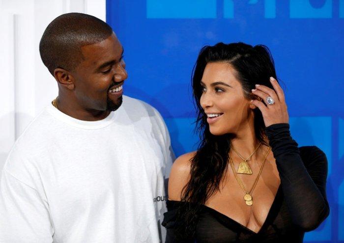 Kanye West e Kim Kardashian (Eduardo Munoz/Reuters)