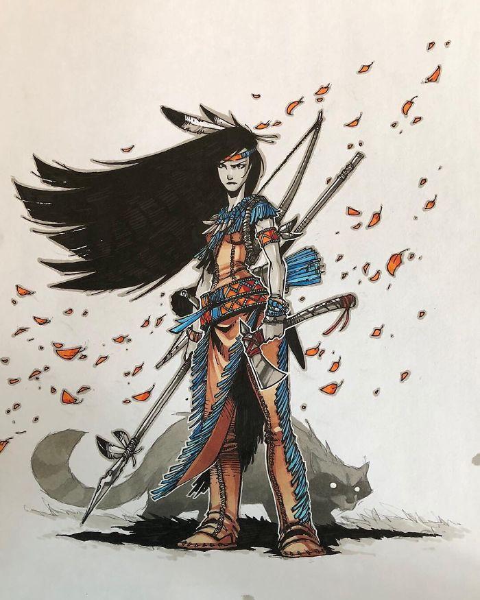 Pocahontas/Artemii Myasnikov