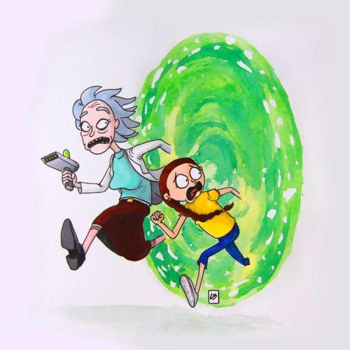Ricka & Martine (Linda Bouderbala)